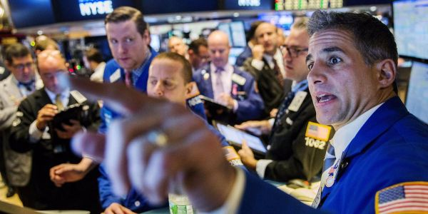 Tumbling stocks just closed below a key technical threshold - and it could mean the pain is just beginning