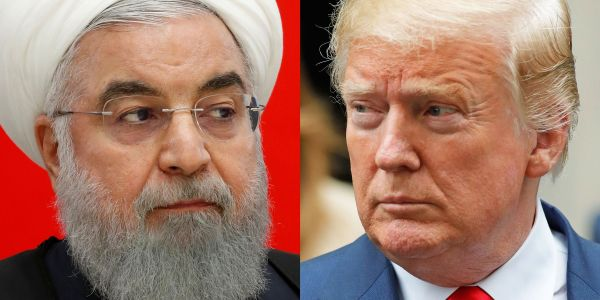 Iran's president said the Trump administration is 'afflicted with mental retardation,' turning their conflict increasingly personal