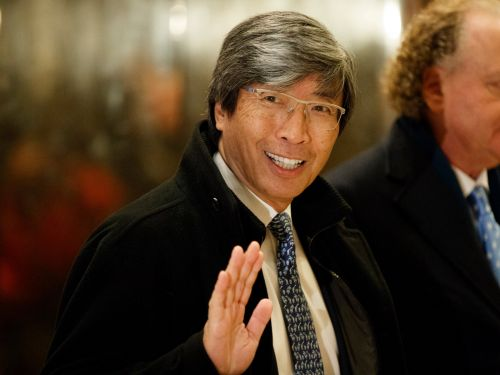 LA Times owner and biotech billionaire Patrick Soon-Shiong is in talks to join the consortium bidding for newspaper company Tronc