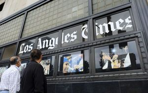 Los Angeles Times loses publisher, gets union
