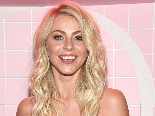 Julianne Hough chopped her hair into a blunt bob with bangs - and she looks like a different person