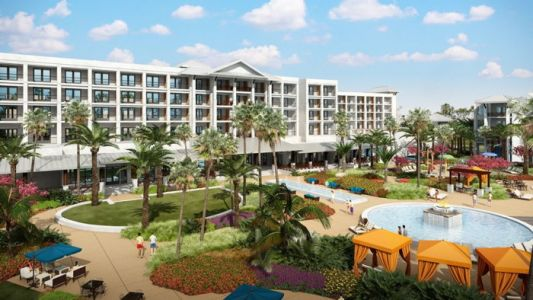 13 Acre Margaritaville Beach Resort, Panama City Beach to Open in Spring 2021
