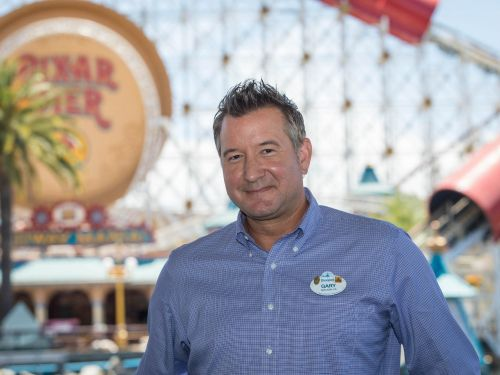 A day in the life of a Disneyland manager who's worked there for 23 years, walks 5 miles daily around the park, and has a 'long-distance' marriage with his wife