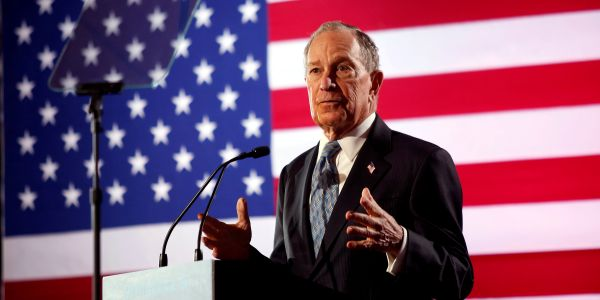 Bloomberg may have entered the race to stop Sanders, but his campaign mostly threatens other moderate candidates
