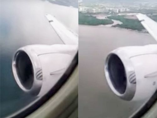 Video shows the terrifying moment a bird struck a Boeing 737 engine during takeoff from Puerto Vallarta
