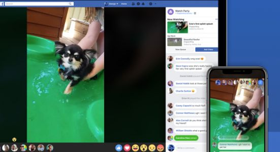 "Facebook ""Watch Party"" lets Groups view videos simultaneously"