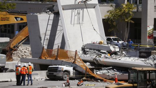 As Bodies Are Pulled From Rubble, Questions Mount About Miami Bridge