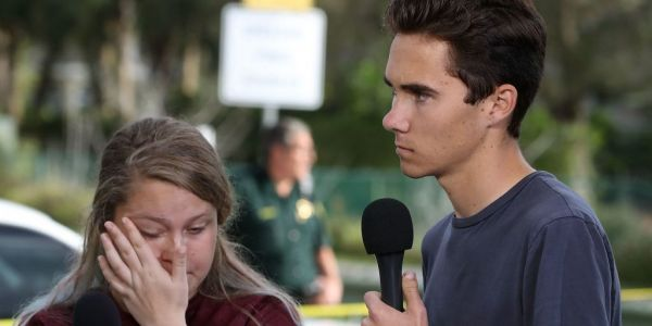 'Their blood is on your hands': Parkland high school students hit back at Trump for blaming Democrats and the FBI for the shooting