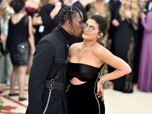 Kylie Jenner shared a video of Stormi Webster's massive diamond necklace from Travis Scott