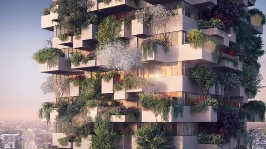 The Netherlands is getting a 'vertical forest' skyscraper covered in over 5,000 trees - and apartments cost less than $900 a month
