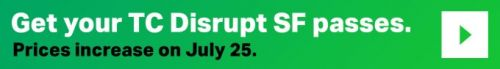 Only 24 hours left to grab early-bird pricing on Disrupt SF 2018 passes