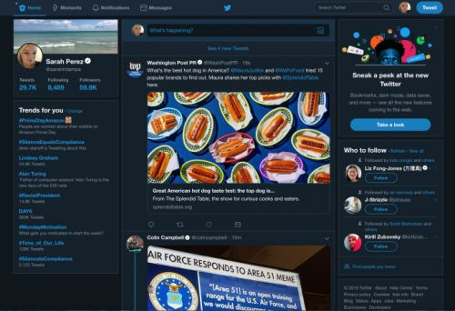 Twitter rolls out its redesigned desktop website with simplified navigation, more features