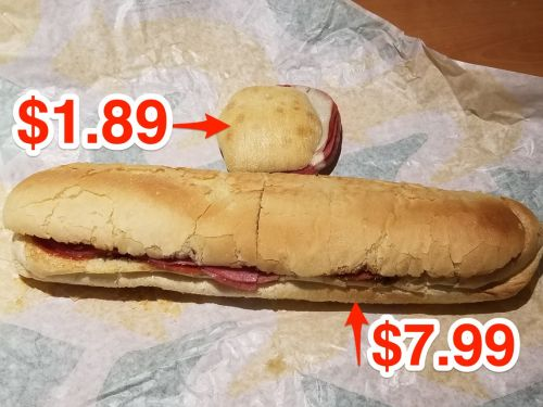 I pitted Subway's new sliders against their original footlongs and the cheaper options were my favorite 2 out of 4 times