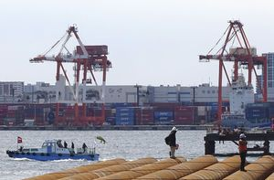 Japan exports climb on surging demand for cars, machinery