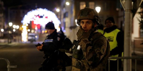 Strasbourg terror suspect may have escaped France as 14-hour manhunt finds nothing