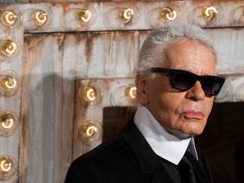 Karl Lagerfeld owned more than 1,000 of his iconic high-collared shirts, and he helped design them himself