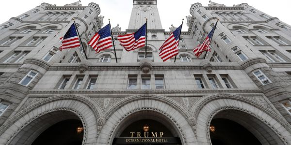 The former governor of Maine reportedly spent at least $22,000 in taxpayer money at Trump's DC hotel