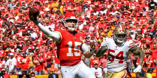 One throw illustrates how Chiefs' 23-year-old rookie quarterback Patrick Mahomes is already lighting up the NFL