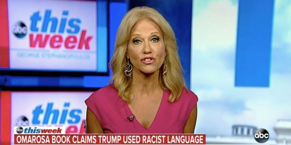Kellyanne Conway hits back at claims in Omarosa's upcoming tell-all book, says the former White House staffer has 'undercut her own credibility'