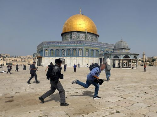 Instagram reportedly removed posts about a holy Islamic mosque after the company associated alAqsa with a terrorist organization amid Palestinian-Israeli violence