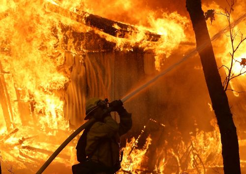 All of the celebrities who have evacuated their homes as wildfires spread across California