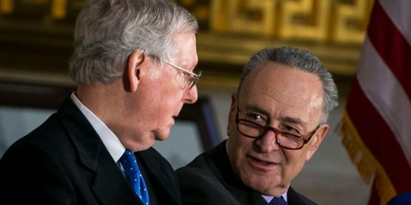Congress is scrambling to find a deal to end the government shutdown as both parties play the blame game