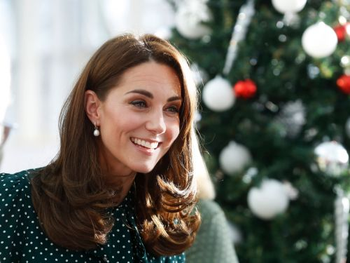 Kate Middleton wore a $645 festive green polka dress for a royal engagement