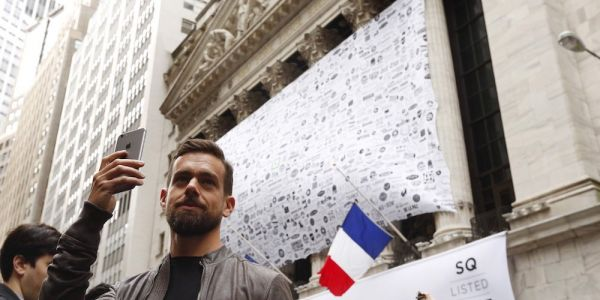 Square is rallying after obtaining a bitcoin license in New York