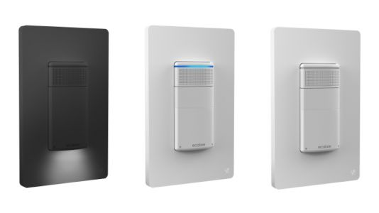 Ecobee's new voice-powered light switch moves closer to whole-home Alexa
