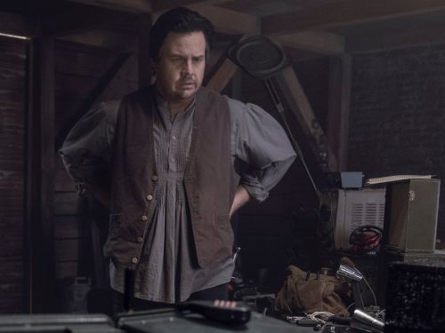 'The Walking Dead' star Josh McDermitt confirms voice behind the mystery person on the radio on Sunday's episode