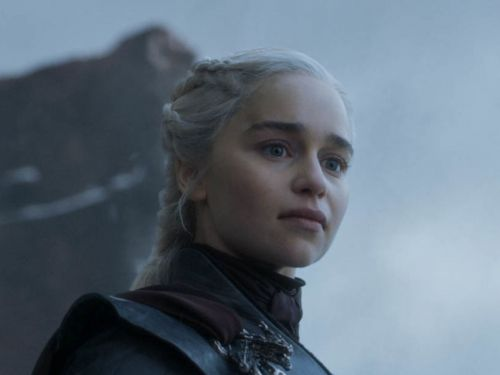 Emilia Clarke says she watched videos of Hitler to prepare for her victory speech on the 'Game of Thrones' finale