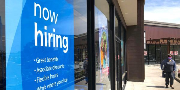 The April jobs report shocks as 266,000 payroll additions badly miss the forecast of 1 million