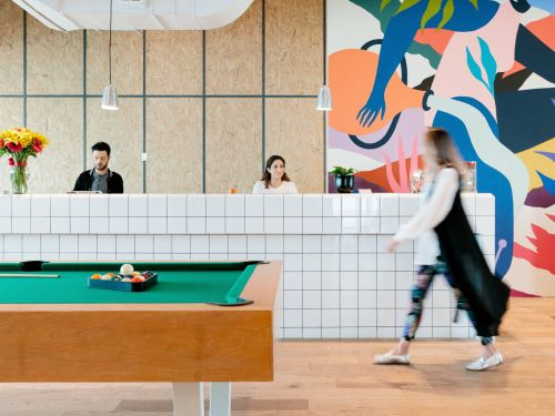 WeWork is outsourcing its cleaning staff to real estate giant JLL