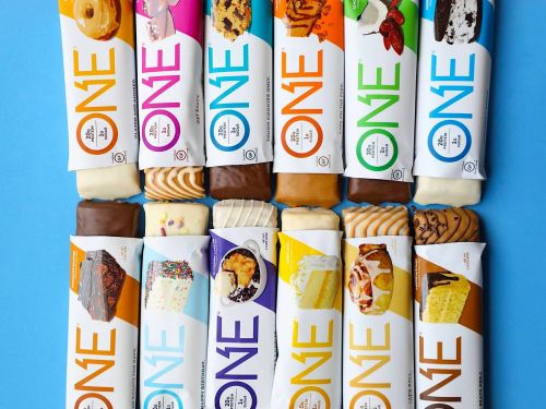 My favorite snack bar has 20 grams of protein and very little sugar - and it comes in fun flavors like blueberry cobbler and maple-glazed donut