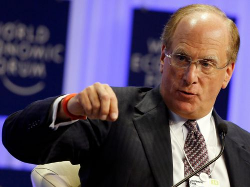 BlackRock is banking on a business that could reach $12 trillion in the next five years, according to its CEO