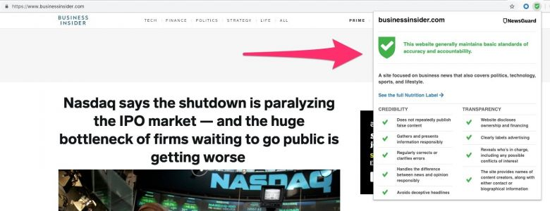 Microsoft's web browser now warns users about untrustworthy news: Here's how your favorite publications stack up