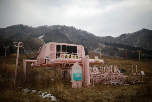 21 stunning photos of an abandoned ski resort in South Korea, ahead of the Winter Olympics