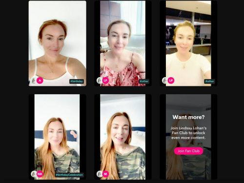 You can get 'business advice' from Lindsay Lohan on Cameo right now for $375