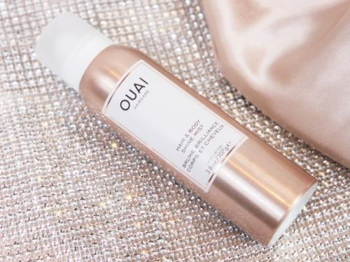 This cult-favorite hair-care brand's new 'shine mist' adds softness and subtle shimmer to my skin and hair