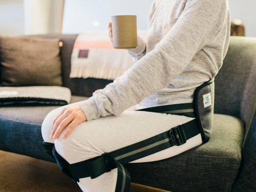 This $50 posture corrector from 'Shark Tank' might seem gimmicky - but it actually eliminated my back pain at work