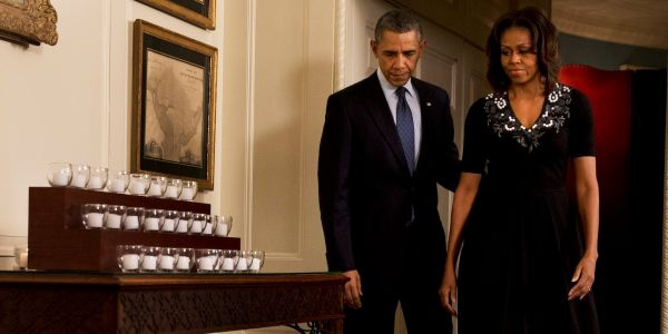 Michelle Obama shares what the 'darkest day' was like in the White House: the Sandy Hook elementary school shooting