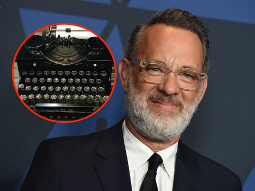 10 of the weirdest things that celebrities collect, from Angelina Jolie's daggers to Tom Hanks' 120 typewriters