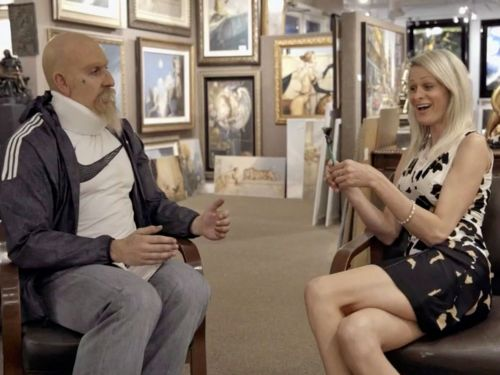 An art expert pranked by Sacha Baron Cohen isn't upset about being duped: 'I don't care'