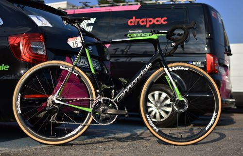 The cycling world can't stop talking about Sunday's hellish-looking Tour de France stage. Here's the bike the best American classics rider in the race will ride over the cobblestones of northern France