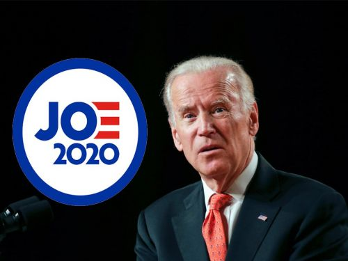 Joe Biden is running for president - and a lot of people are criticizing his 2020 campaign logo