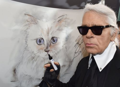 Karl Lagerfeld said his cat Choupette was one of the heirs to his $200 million fortune
