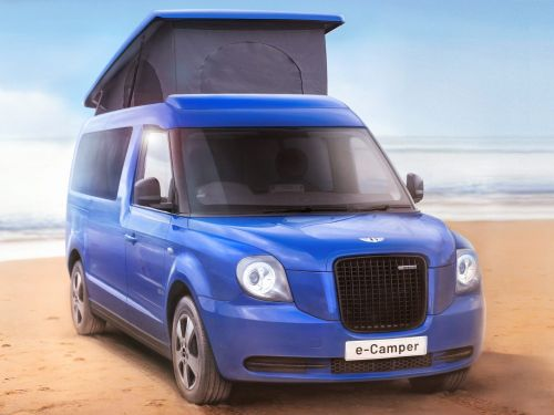 London's taxi maker has turned a van into an electric camper RV for $85,000