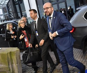 The Latest: Spanish PM will respect Belgium on extradition