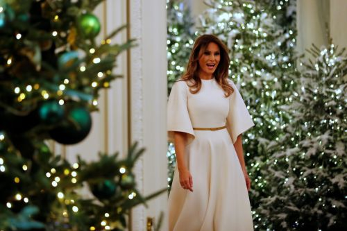 The Trump White House is about to be all decked out for Christmas - see what it looked like last year