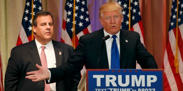 Trump reportedly close to picking Chris Christie in 'reality TV' hunt for new Chief of Staff